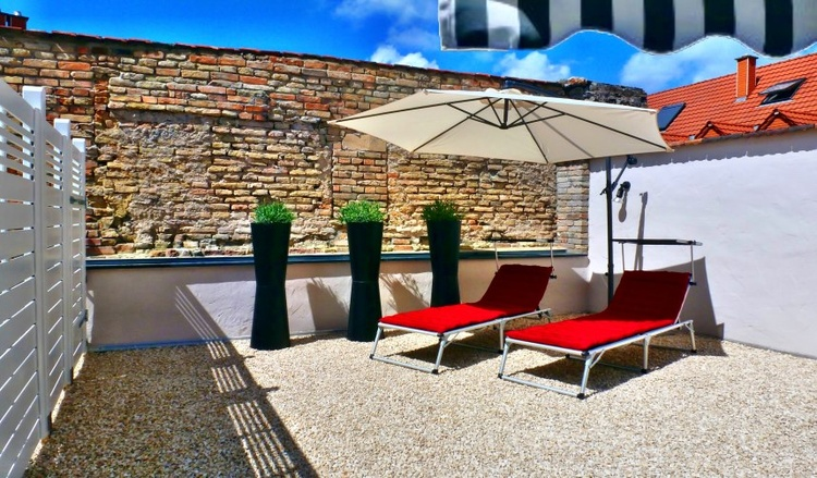 roof terrace apartment 2
