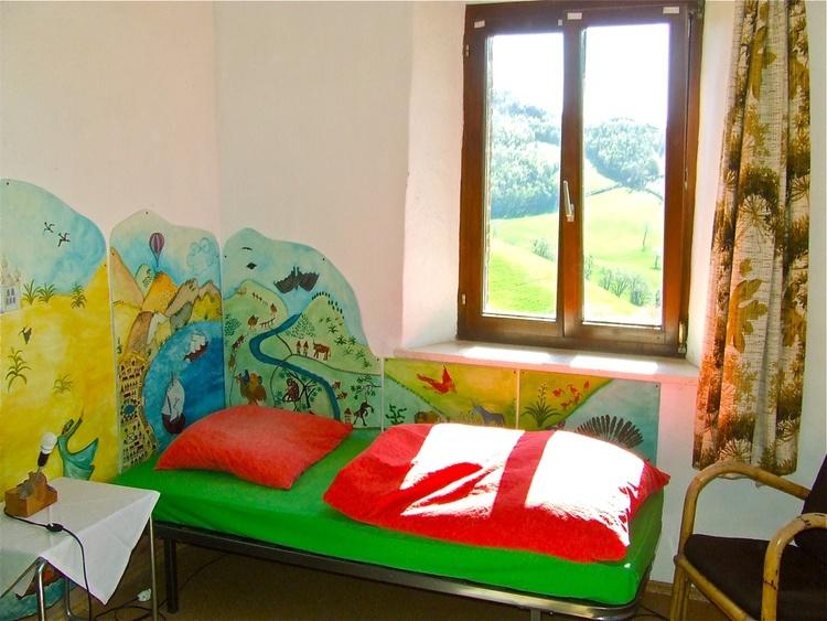 Children bed area