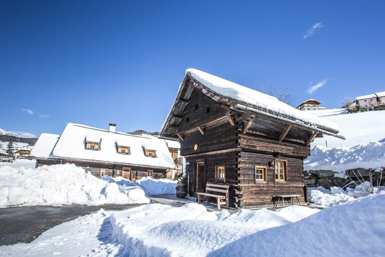 Napoleonvilla in Winter