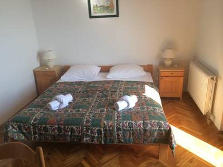 Schlafzimmer in der Wohnung
