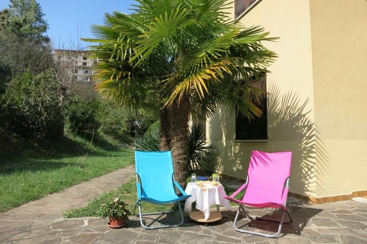 Sonnenbaden unter Palmen