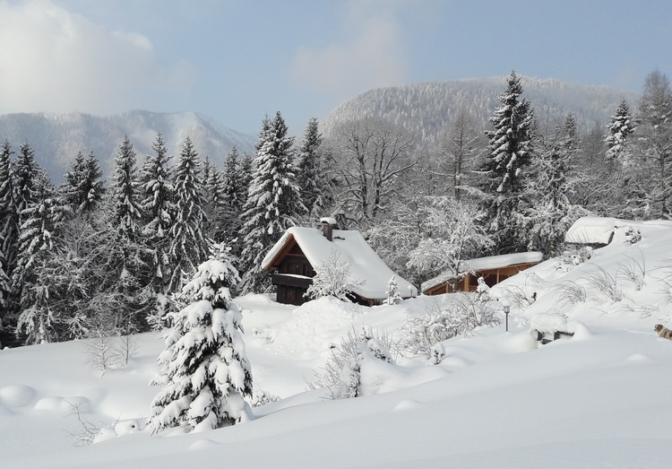 holiday home in winter