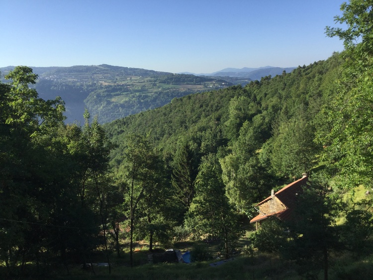 View from Casa Giribaldi to Casa Rosa