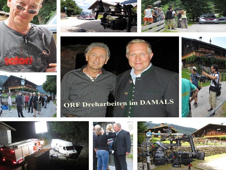 ORF Dreharbeiten im DAMALS