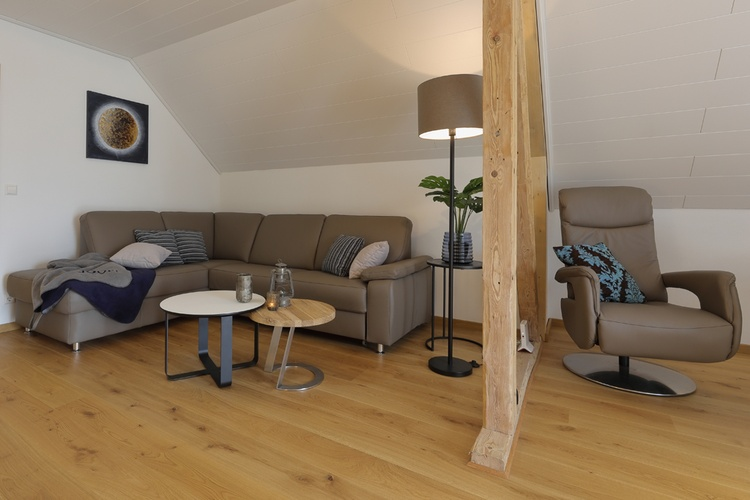 Ferienhaus Däschinger Goldener Mond living room