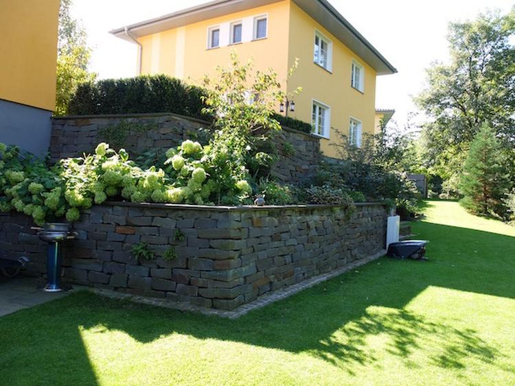 Gartenseite-Zugang zum Wasser