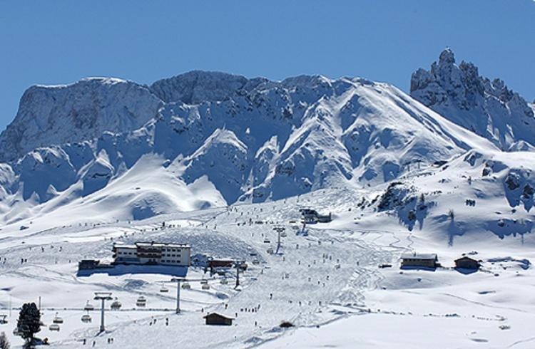 Skiarena auf der Seier Alm