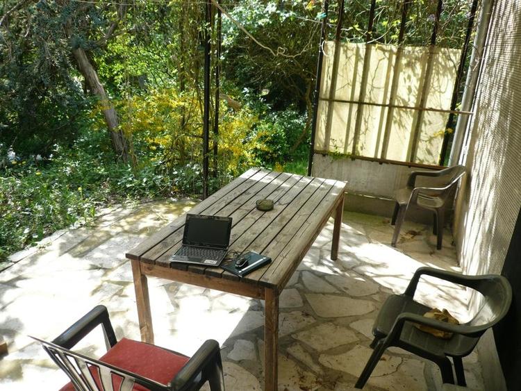 WiFi auf der überdachten Terrasse