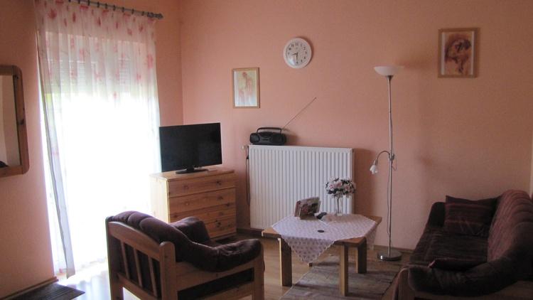 """Wohnzimmer im Appartement """" Panorama"""""""