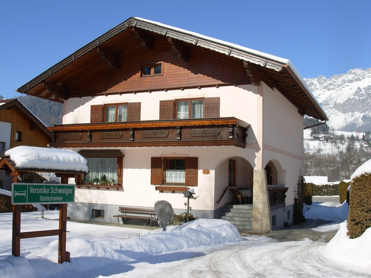 Haus Winterfoto