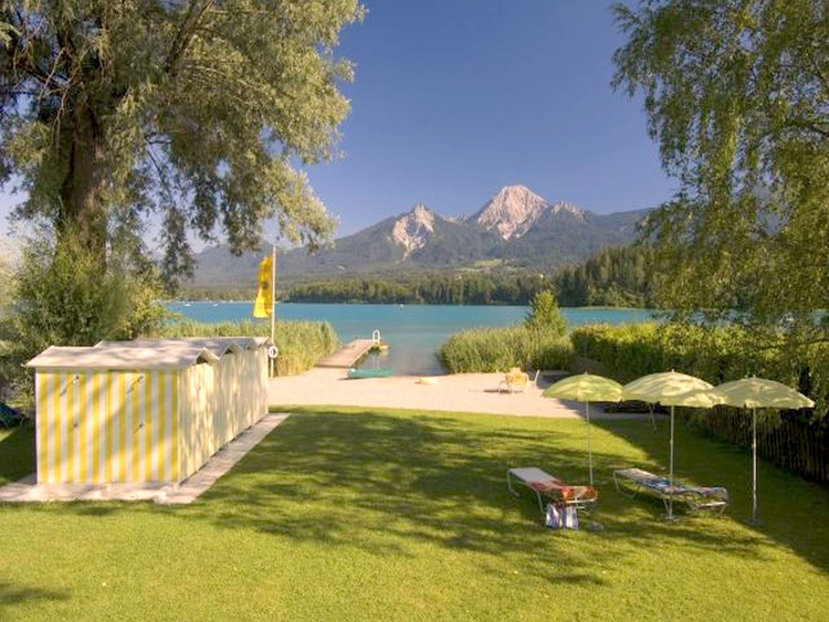 Own beach at the Faaker See 3,2 Km