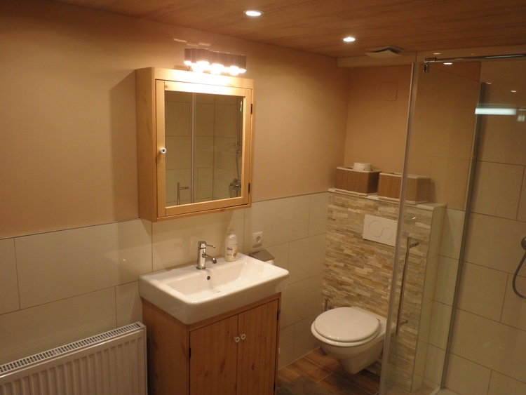 Bathroom with toilet and shower flat No. 2