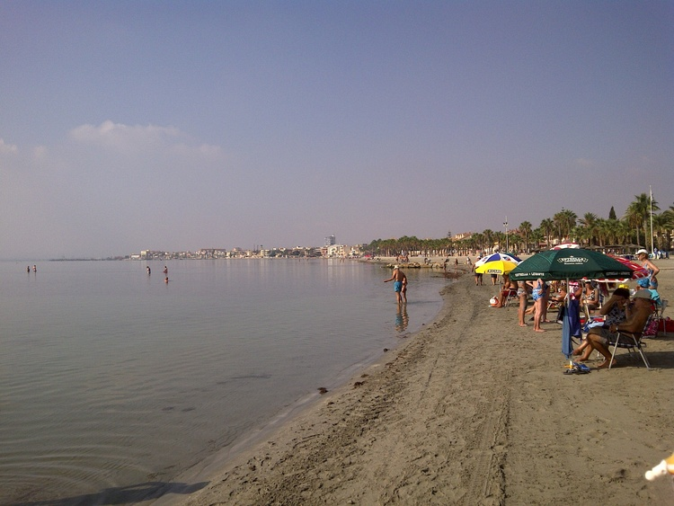 Mar Menor beach area