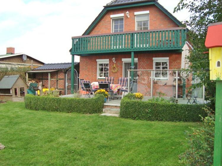 Terrassen -Gartenansicht