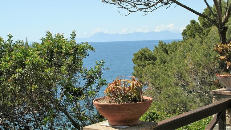 Villa Licosa - Blick vom Garten