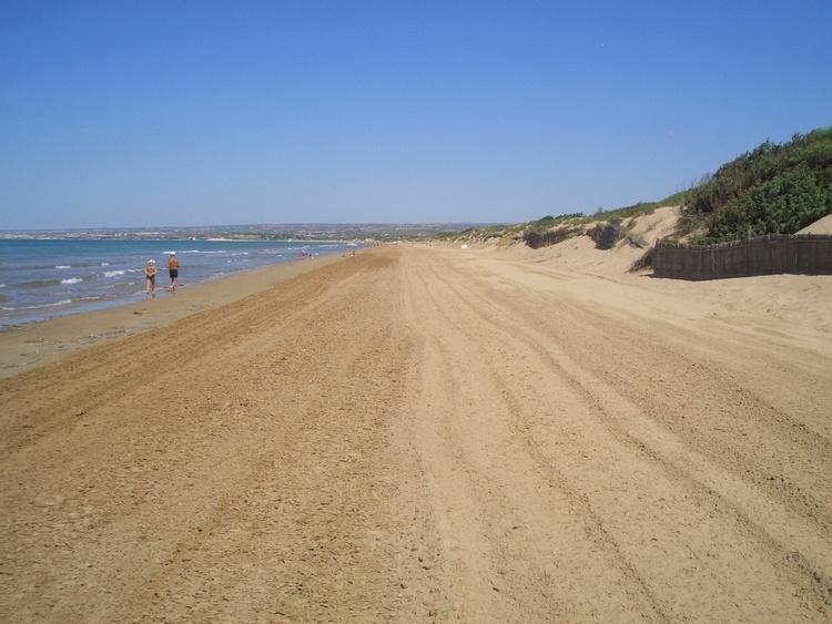 Sandstrand Ispica