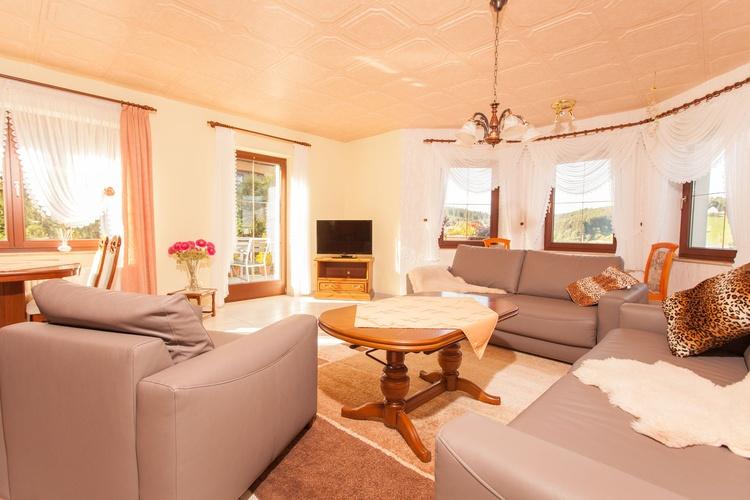 Wohnzimmer Zweiraumapp. Gästehaus