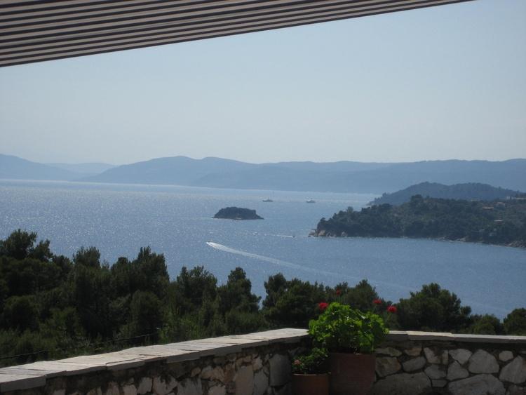 Blick auf Kolios Bay