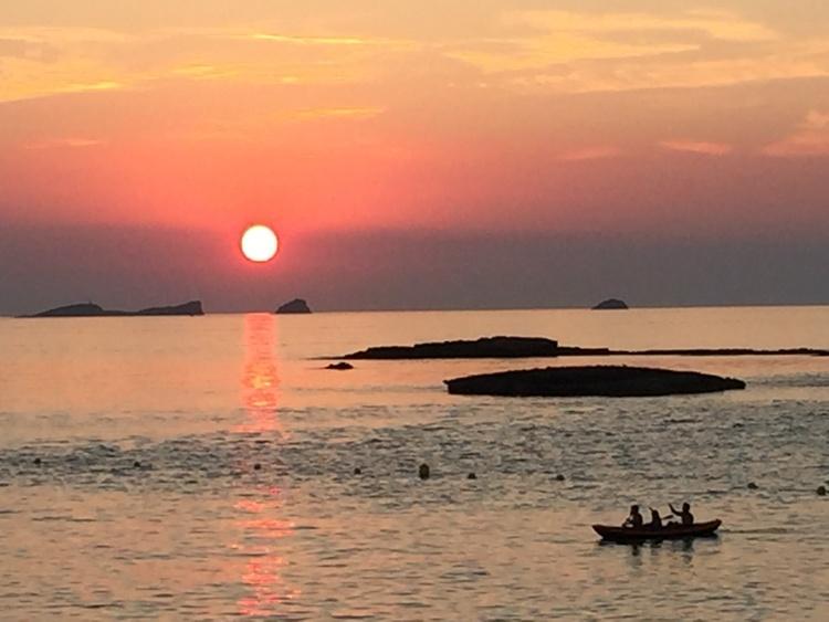 Sunset Cala Conta