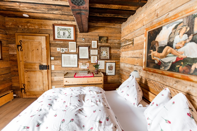 Napoleonvilla Schlafkammer