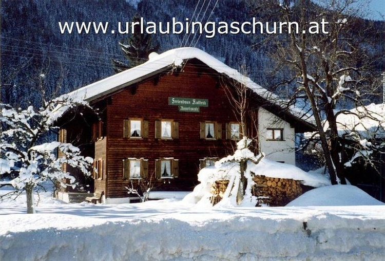 Holiday hous Kathrili in Gaschurn