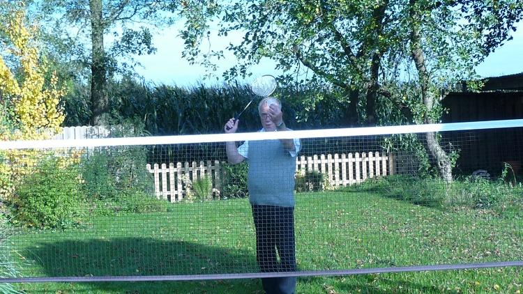 Badminton spielen erwünscht