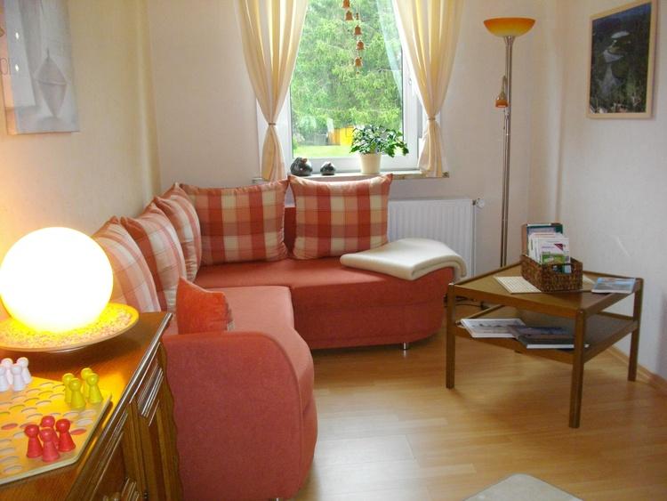 Zusätzliches Wohnzimmer mit Schlafcouch (160x200 cm)
