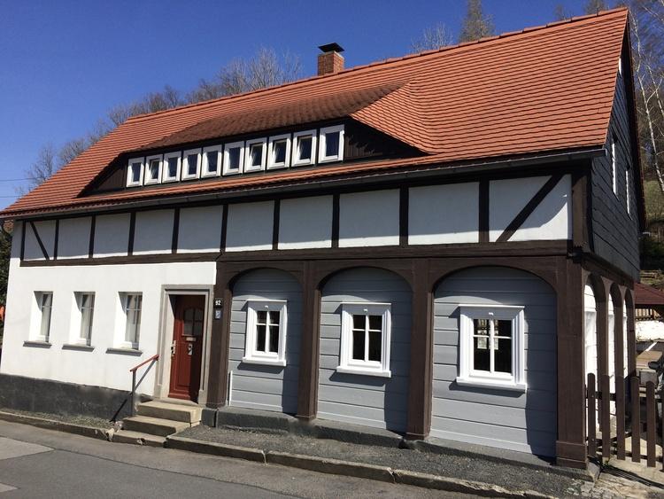 Haus am Butterberg im Sommer