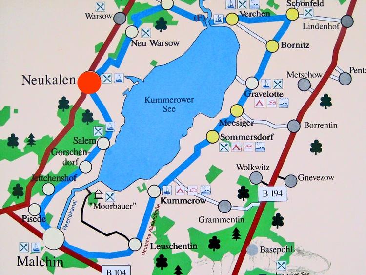 Neukalen am Kummerower See