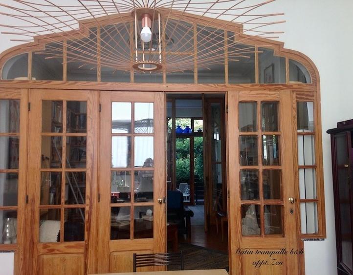 """Living room of the """"Zen"""" duplex"""
