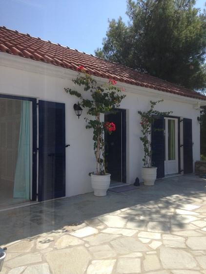 Türkis und Grünes Schlafzimmer Eingang