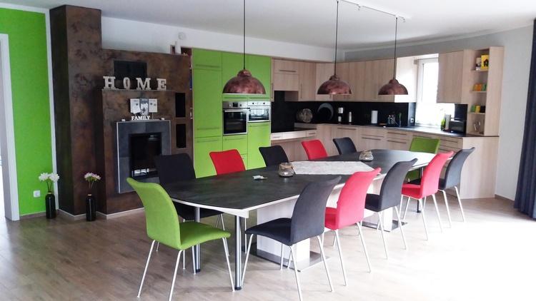 Küche mit ausziehbarem Tisch auf 5,5 m