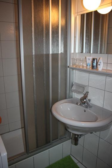 Dusche&Waschbecken
