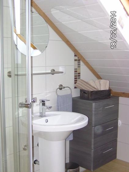 Dusche/WC 45 m²