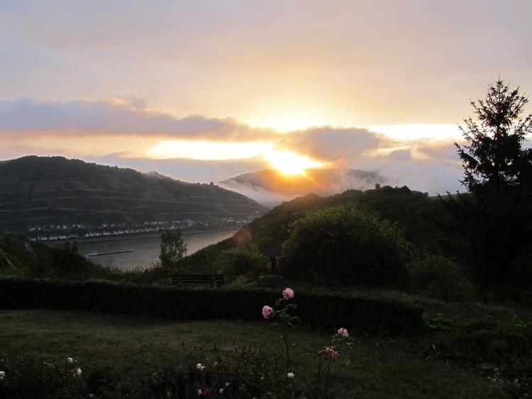 sunrise in October