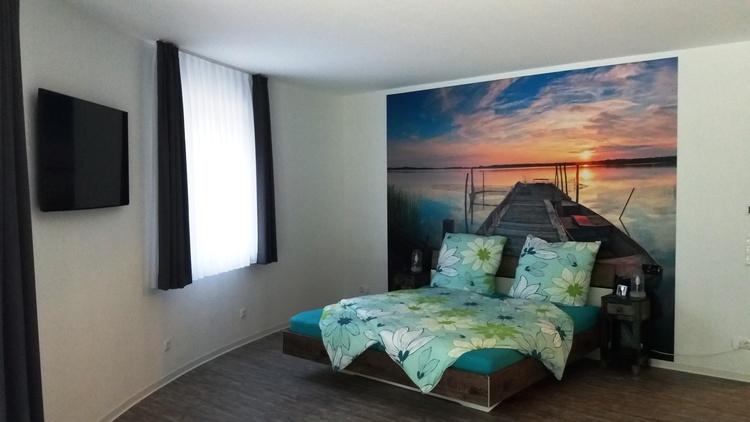 Doppelbett im Stegzimmer 180 x200
