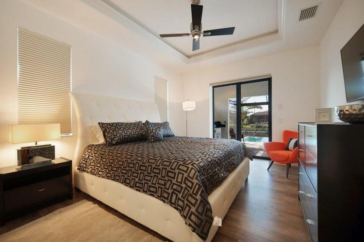 2.Schlafzimmer der Ferienvilla in Cape Coral, FL