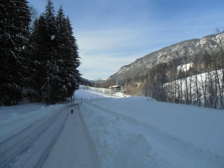 Klammrast in Winter --idyllic location