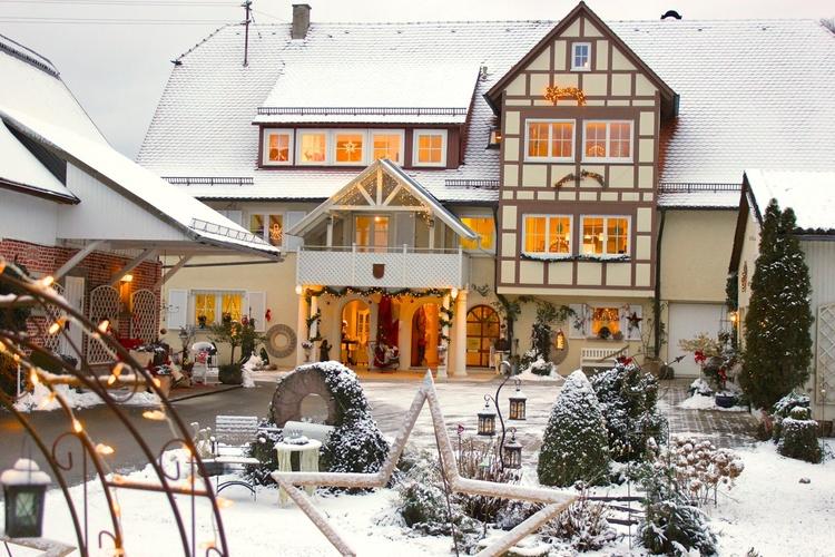 Winter/Weihnachtsromantik erwartet Sie in der Aumühle