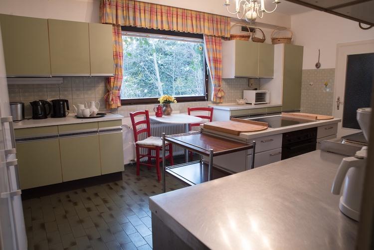 Küche im Apartment Nr. 1