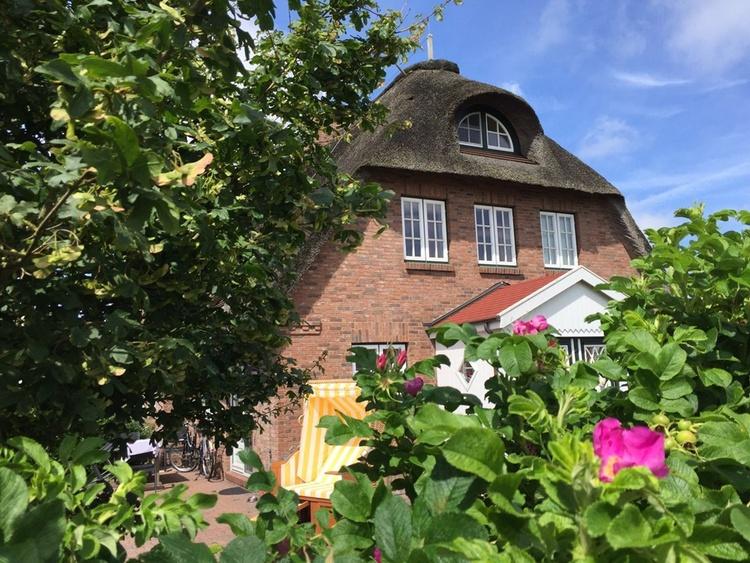 Wohnen unter Reet auf der Nordsee Insel Föhr