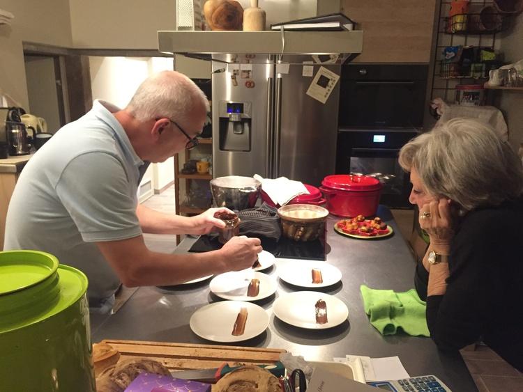 In Daniel's Atelier de Cuisine