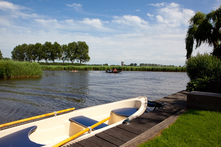 "Rowingboat  in ""De Delft""."