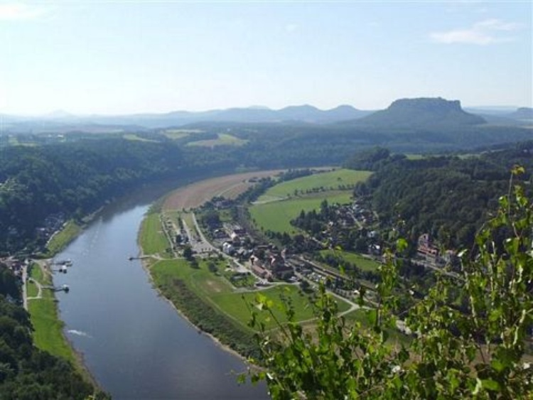 river Elbe near Rathen