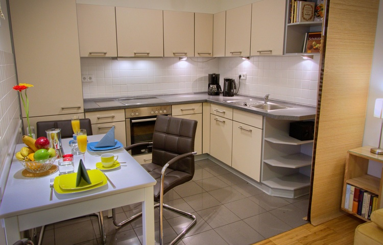 Kitchen for self catering, well equipped for families