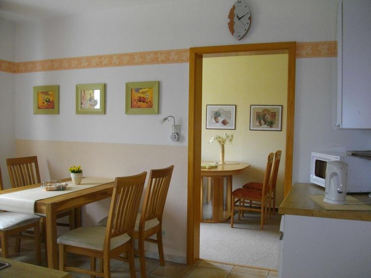 Essplatz für 4 Personen in der Küche