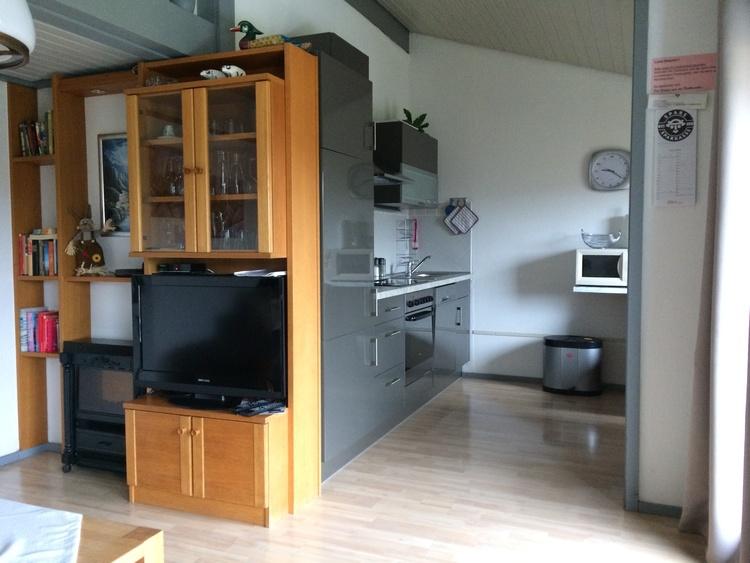Ferienhaus HENNESEE Wohnbereich