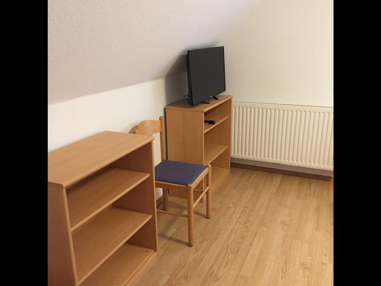 Schlafzimmer 1 , 2 Betten
