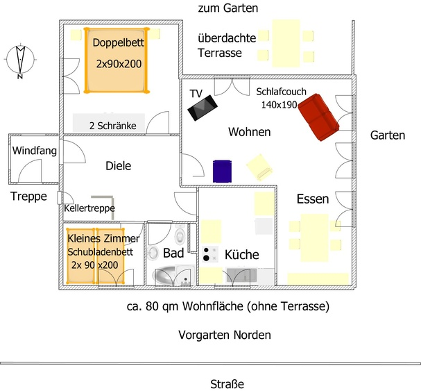 Berlin-Cottage- the floor plan