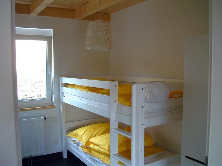 Schlafzimmer 2 alternativ mit Etagenbett